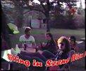 Sitting in Szene Wien